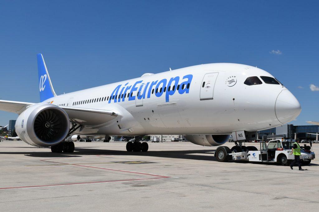 Air Europa Boeing 787-8 Dream liner