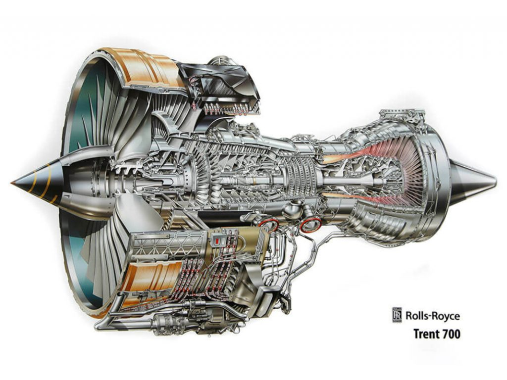 Trent 700 (Rolls-Royce) for airbus 330