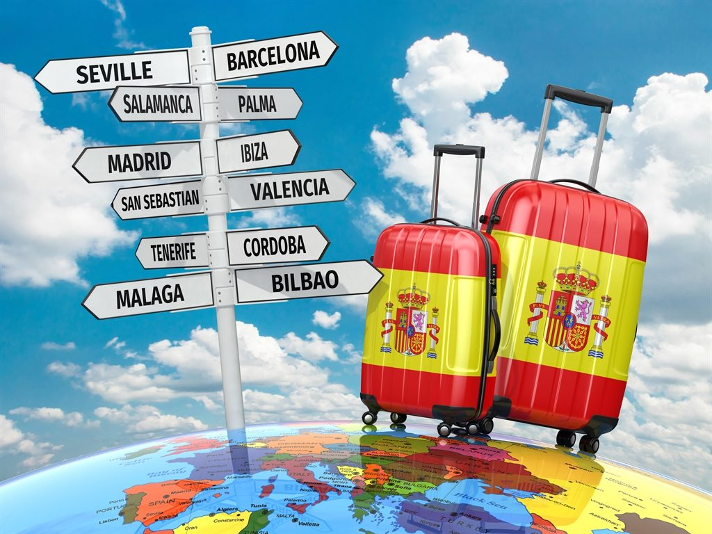 Spain, A Popular UK Flight Destination